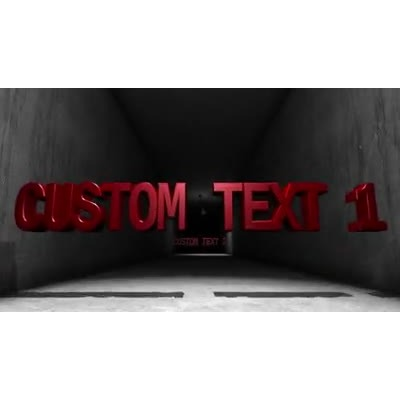 ID# 13078 - Grunge Hallway Text - Video Background