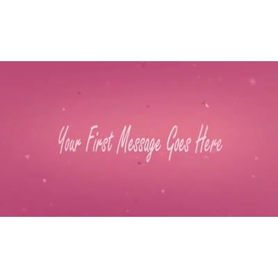 ID# 13878 - Valentine Depth Text - Video Background