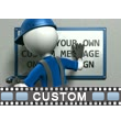 Figure Install Sign PowerPoint Video Background