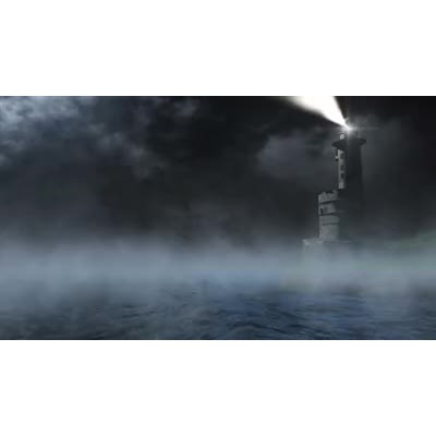 ID# 16295 - Lighthouse Fog - Video Background