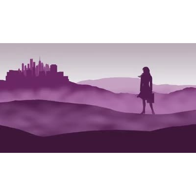 ID# 17896 - Epic Business Woman Landscape - Video Background