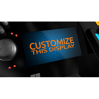ID# 18978 - Console Display Custom - Video Background