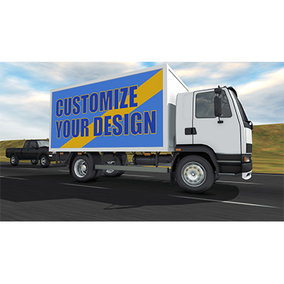 ID# 19401 - Cargo Truck Custom - Video Background