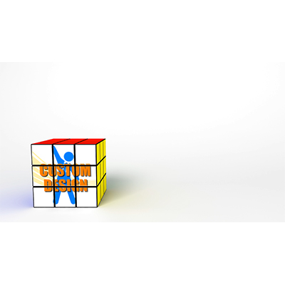 ID# 19723 - Puzzle Cube Solo Custom - Video Background