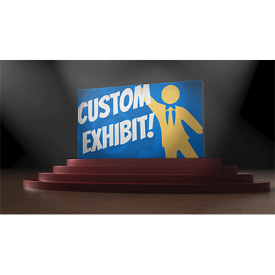 ID# 21948 - Spotlight Display Reveal Custom - Video Background