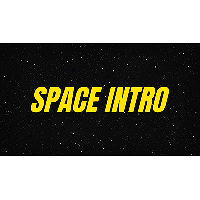 ID# 22016 - Space Intro Crawl Custom - Video Background