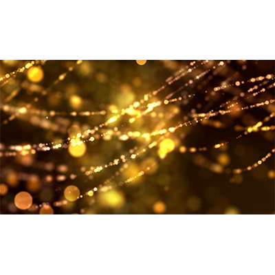 ID# 23190 - String Lights Wave - Video Background