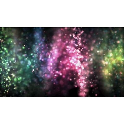 ID# 23662 - Colored Lights Nebula - Video Background