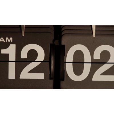 ID# 24019 - Flip Clock Move - Video Background