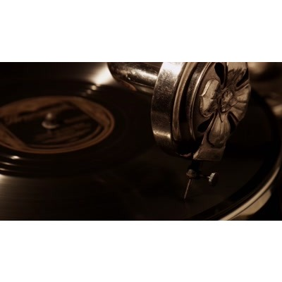 ID# 24067 - Record Player - Video Background