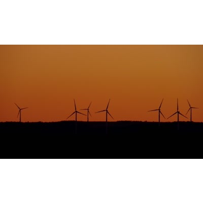 ID# 24101 - Wind Turbine - Video Background