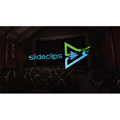 ID# 24108 - Movie Theater Logo Reveal - Video Background